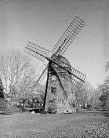 Beebee windmill in Bridgetown, NY