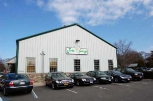 Customer parking at Joe's Garage Inc 1426 N Sea Rd Auto Repair Southampton, NY 11968