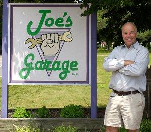 Joe Frizell owner of Joe's Garage Inc Auto Repair Southampton NY